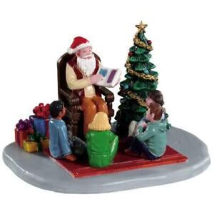 Lemax Christmas Village Town Storybook Santa 93435  new in box  free shipping