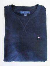 Tommy Hilfiger,Neuwertig,Herren,Sweatshirt,Shirt,Langarm,Blau,S(USA),Gr.46-48
