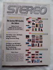 STEREO 12/89 AUDIODATA BIJOU,DYNAUDIO CONTOUR 2/MK2,ECOUTON LQL 150,PIEGA LDS 1