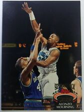 1992-93 Topps Stadium Club Draft Pick Alonzo Mourning Rookie RC #297, Hornets