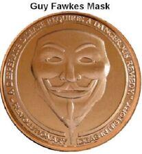 Guy Fawkes - ApocalypZe Copper Round