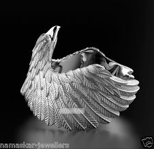 Unique Eagle 925 Sterling Silver Mens Biker Fashion Ring jewelery