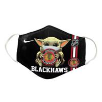 Chicago Blackhawks NHL - Cotton Face Mask