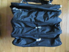 GORSUCH BOGNER SHOE ORGANIZER TOTE, HOLDS 4 PAIR OF SHOES, BLACK, EUC!