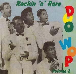 ROCKIN' 'n' RARE DOO WOP volume 2 CD - early 1950s Rock & Roll doowop R&B - NEW