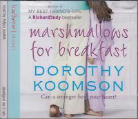 Dorothy Koomson Marshmallows For Breakfast 3CD Audio Book Abridged FASTPOST