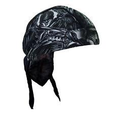 Biker Chopper Kopftuch Bandana Headwrap Death Skull Totenkopf Schwert Motorrad