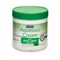 Nuage Aqueous Moisturising Cream Aloe Vera Extracts Fragrance Lanolin Free 350ml