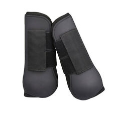 2Pcs Horse Equine Jumping / Tendon Protection Front Leg Guards Splint Boots Gear