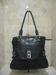 Mulberry Maggie Silky Calf Leather Black Shoulder Bag