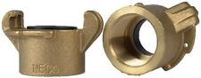 "Tank Coupling for Sandblasting Machines with 1-1/4"" threaded piping, Brass."