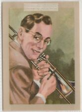 History of Trumpet Musical Instruments Vintage Trade  Ad Card
