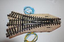Märklin 5214 Dreiweg-Weiche M-Gleis elektrisch Spur H0