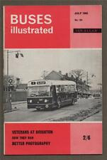 BUSES ILLUSTRATED Veterans at Brighton. London Transport Stock changes. f2.147