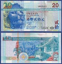 HONGKONG / HONG KONG  20 Dollars 2006  UNC  P.207 c
