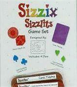 Sizzix Doodle Sizzlits GAME SET - So Cute! 4 Dies NEW