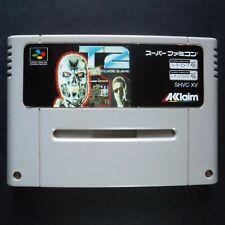 T2 TERMINATOR 2 THE ARCADE GAME Nintendo Super Famicom NTSC JAPAN・❀・SHOOTER SFC