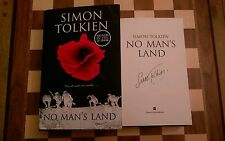 No Man's Land SIGNED Simon Tolkien Hardback Book 2016 1st edition 1st impression