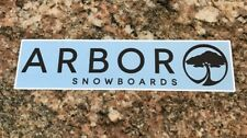 Snowboard Sticker - Arbor Snowboards Ski Snow Mountain Sports