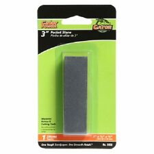 "Gator Grit 2 Pack, 3"" Pocket Sharpening Stone, Sharpens Knives and Cutting Tools"
