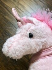 Pink Unicorn Plush 11