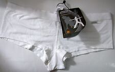 Ladies Size 10-12 Shock Absorber Sports Knickers Panties Gym Shorts White RRP£16
