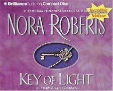 Key Trilogy: Key of Light 1 by Nora Roberts (2005, CD, Abridged)