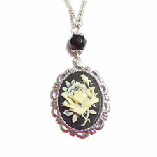Silver Women without Stone Gothic Necklaces