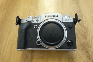 FUJIFILM X-T4 hybrid mirrorless digital camera, body only, excellent condition!