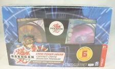 30 Cartes Bakugan dont 6 spéciales dans coffret - Coffret Cartes Booster Premium