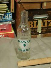 Coca-Cola Bottling of HILO ~ Hawaii Beverages ~ Glass (7oz) Soda Bottle (Japan)