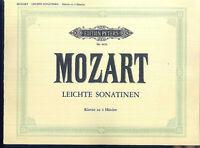 Mozart - Leichte Sonatinen - Klavier zu 4 Händen