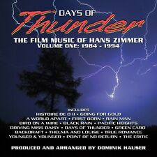 HANS ZIMMER - DAYS OF THUNDER: THE FILM MUSIC OF  CD NEW!