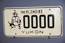 1985 YUKON Canada License Plate ** SAMPLE ** The Klondike ** 1986 1987 1988 1990