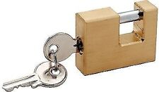 Trailer Coupler Security Lock Solid Brass Locks