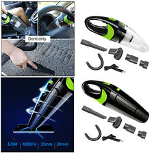 Handheld Car Vacuum 120W Rechargeable Portable for Car Home Cleaning Kit
