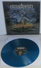 Iron Angel Winds Of War BLUE Vinyl LP Record new