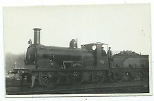 "LONDON, BRIGHTON RAILWAY - LBSCR Steam Loco no.306 ""NAPLES"" Real Photo Postcard"