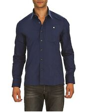 G Star RAW Correct Line Yale 3d Shirt in Blue for Men, Size XXL BNWT $135