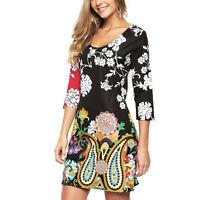 "Brand New Desigual collection Elegant /& Stylish dress /""Sukeinka/"" Black XXL"