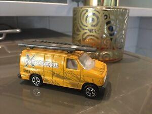 Ford econoline jaune extractor 5022  nº 270/271 majorette fourgon -Tres Bon Etat