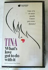 TINA TURNER - TINA WHAT'S LOVE GOT TO DO WITH IT - VHS Sigillata
