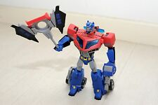 Transformers Animated Optimus Prime Voyager Class Hasbro 100% Complete !!!