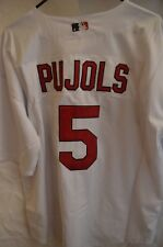 Albert Pujols #5 St. Louis Cardinals Jersey By Majestic Authentic Size 54