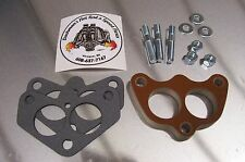 Fits Stromberg 97 Holley 94 Carb Spacer Phenolic Riser Edelbrock Dual Super 1/2""