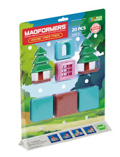 Genuine Authentic MAGFORMERS House Tree Accessory Pack Magnetic construction