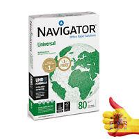 Folios Papel lNavigator A4 80 gr Papel, Paquete de 500 Hojas ENVIO URGENTE 24HR