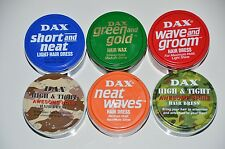6 x DAX WAX  , 6 Sorten Hair Pomade aus USA