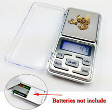 Mini Digital Pocket Scale Weighing LCD Jewelry Gold Kitchen Scales 0.1g-500g UK