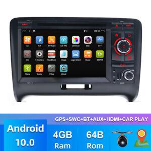 PX6 Car Radio For Audi TT GPS Navi Autoradio Android 10 BT RDS Wifi DVD 4G+64G